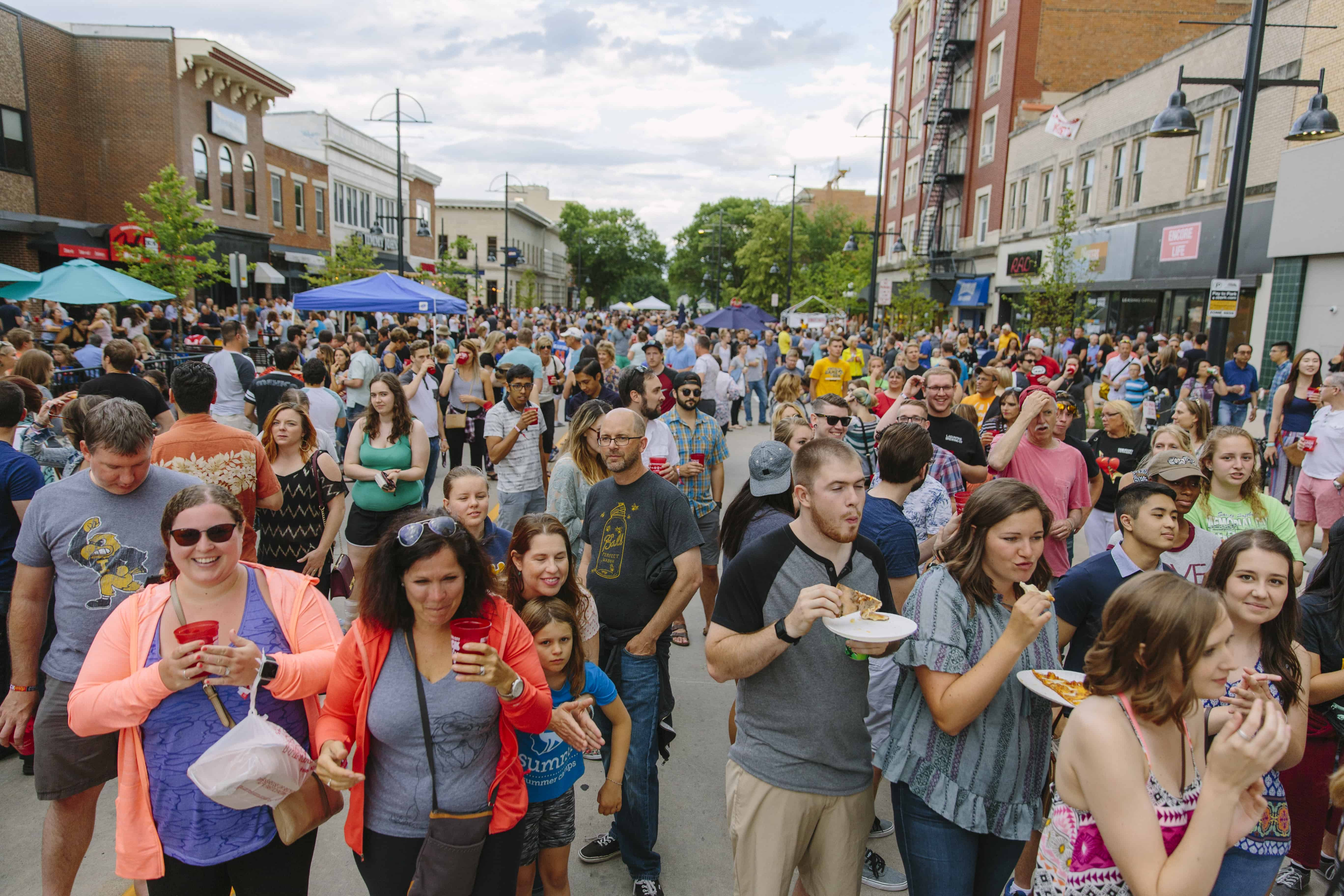 owa City Downtown Block Party 2017