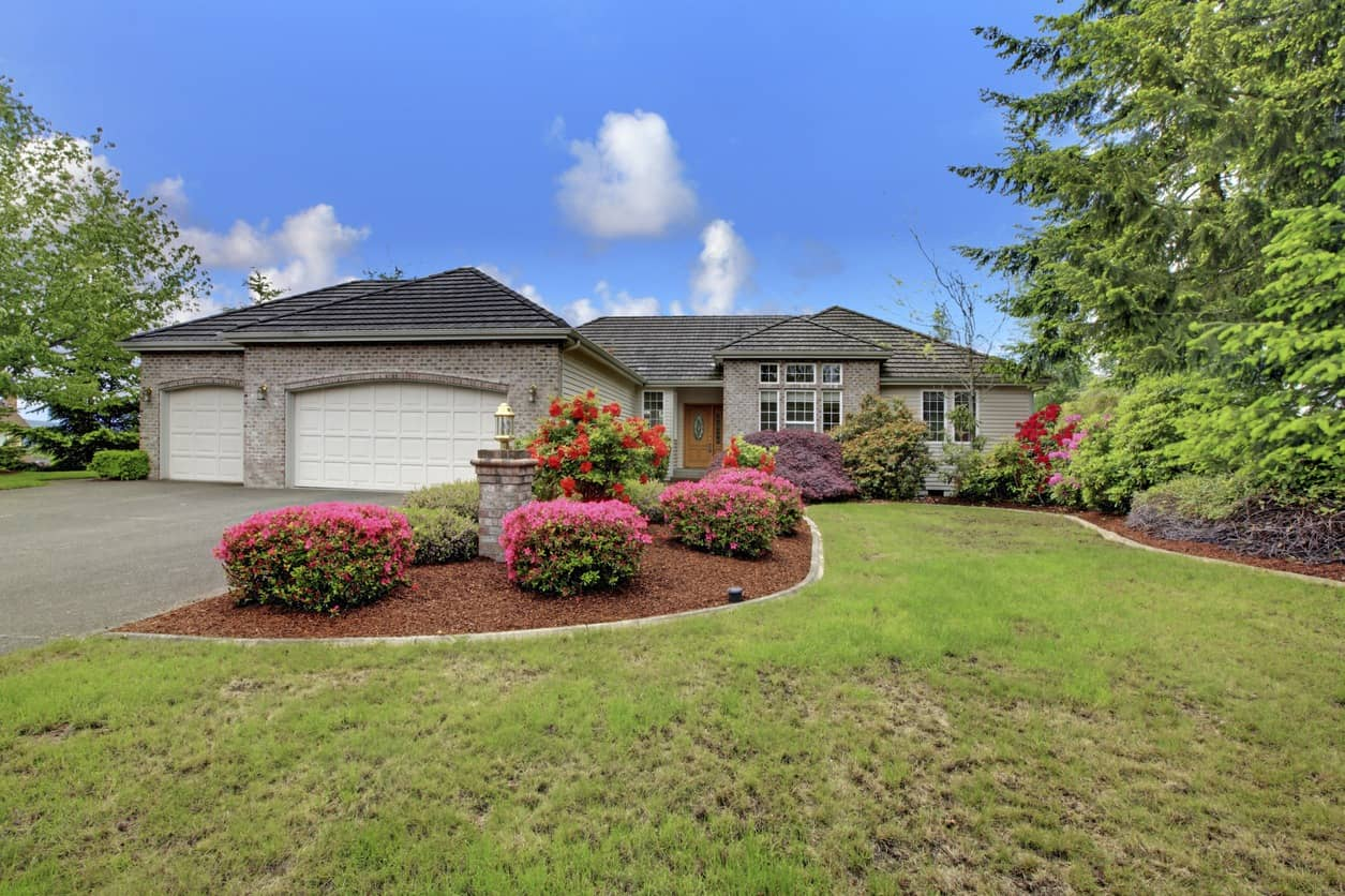 home with beautiful curb appeal