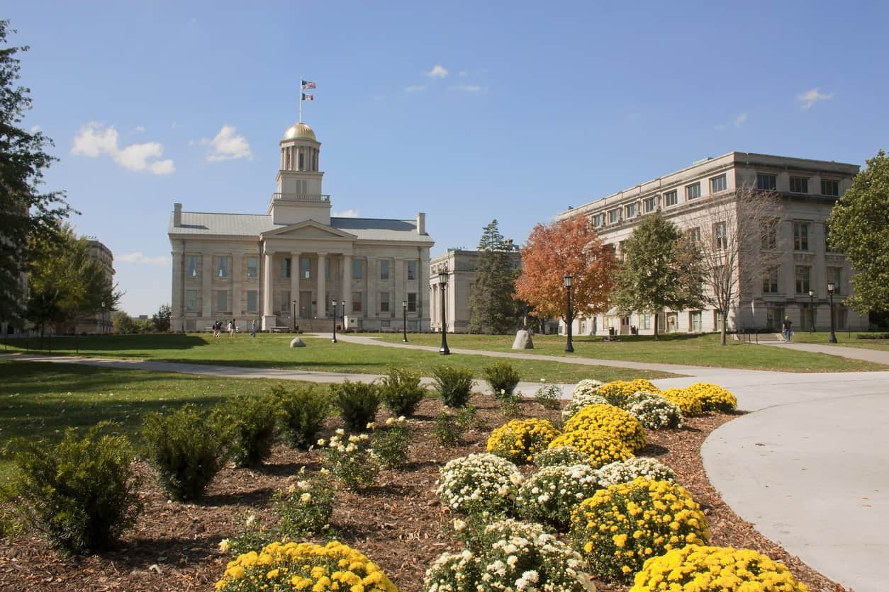 old capitol building university of iowa