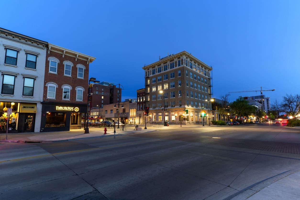 Downtown Iowa City; Iowa City real estate trends
